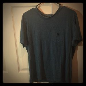POLO T SHIRT (navy blue)